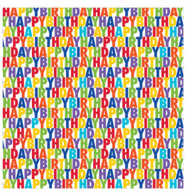 "Letter Birthday Jumbo Gift Wrap (16ft by 30"")"
