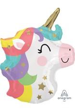 "Baby Unicorn 21"" Mylar Balloon"