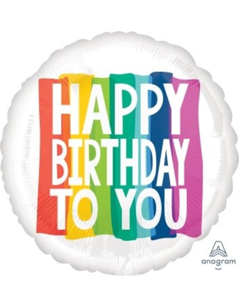 Birthday Wishes Jumbo Mylar Balloon