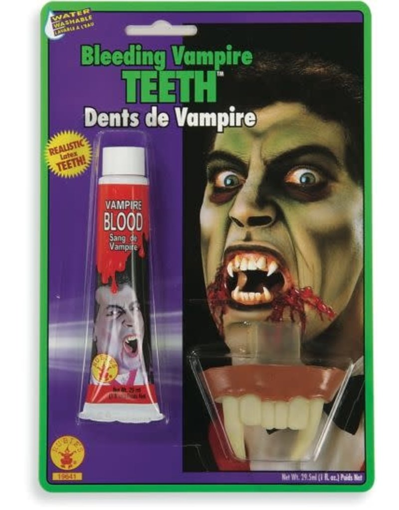 Bleeding Vampire Teeth