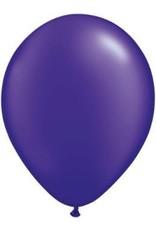 "11"" Pearl Quartz Purple Qualatex Latex Balloon Uninflated"