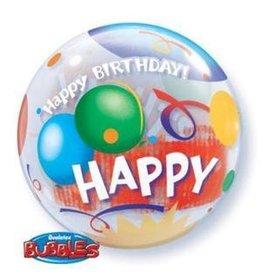 "Birthday Celebration 22"" Bubble Balloon"