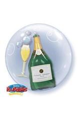 "Champagne 22"" Bubble Balloon"