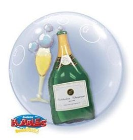 "Champagne 22"" Bubble Balloon"