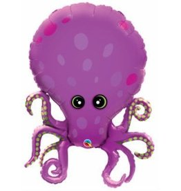"""Amazing Octopus 35"""" Mylar Balloon"""