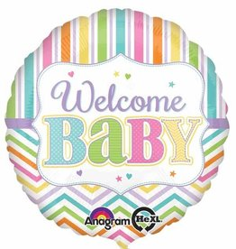 "Baby Bright 18"" Mylar Balloon"