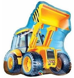Construction Loader Shape Mylar Balloon