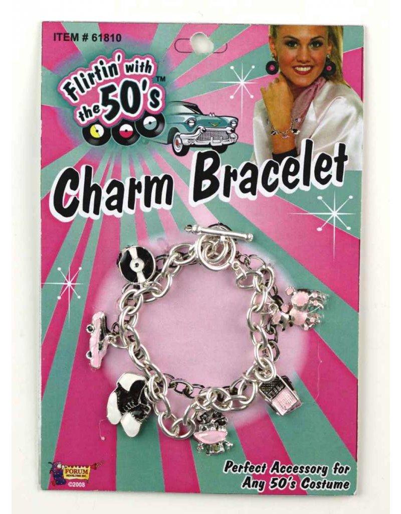 50's Charm Bracelet