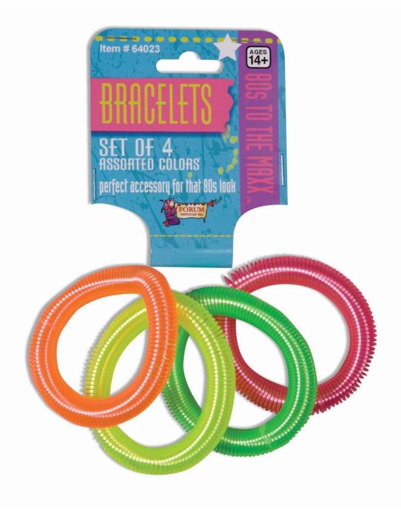 80's Coil Bracelets