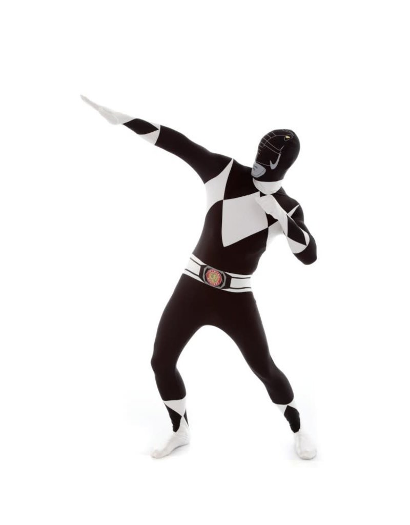 Morphsuit Black Power Ranger Costume - Medium