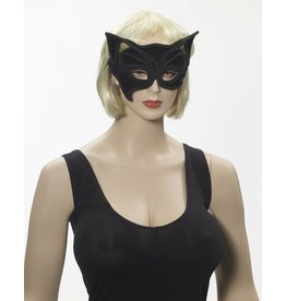 Black Cat Half Mask