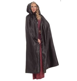 Black Fancy Masquerade Cape
