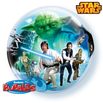 "Star Wars 22"" Bubble Balloon"