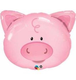 "Playful Pig 30"" Mylar Balloon"