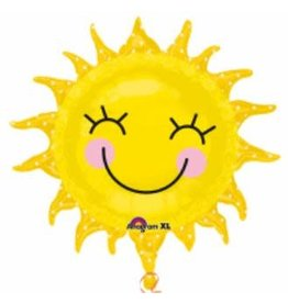 """Sunshine Sun 29"""" Mylar Balloon"""