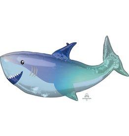 """Shark 38"""" Mylar Balloon"""