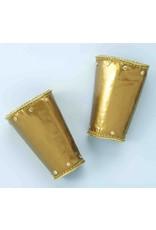 Deluxe Gold Roman Wristlet