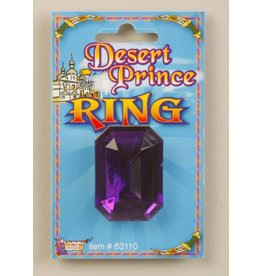 Desert Prince Purple Ring