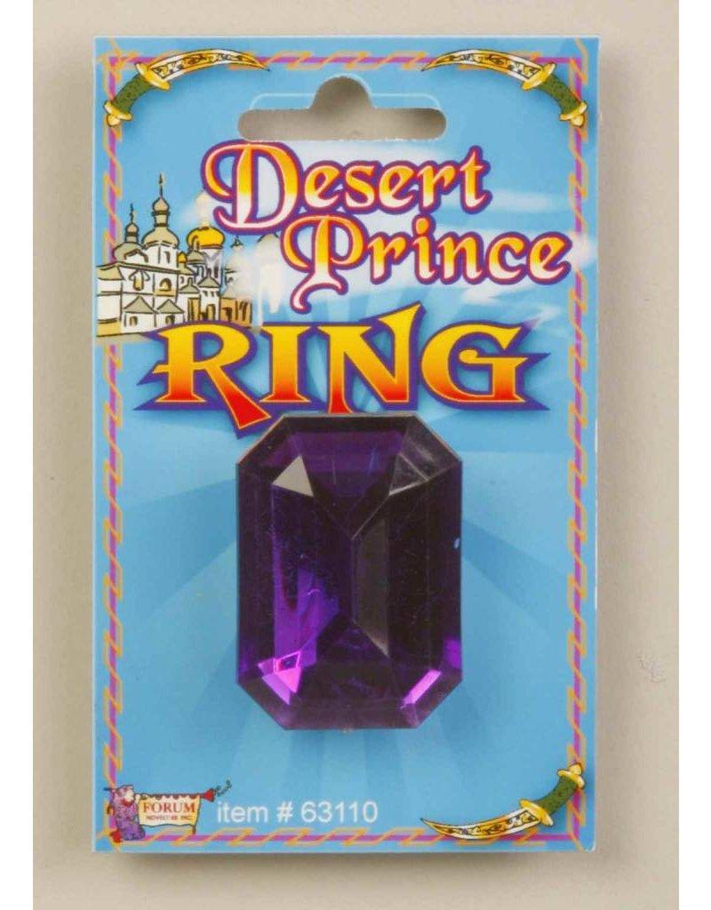Desert Prince Purple Ring