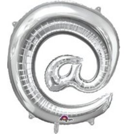 Silver @ Mylar Balloon