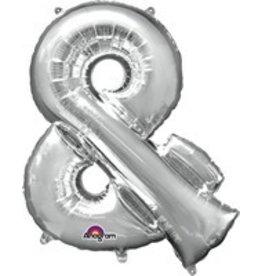 Silver & Mylar Balloon