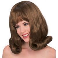 60's Flip Auburn Wig