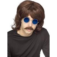 70's Shag Brown Wig