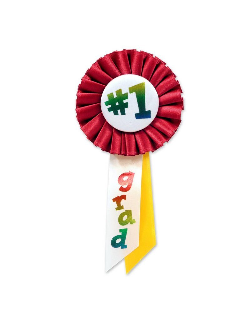 #1 Graduation Award Ribbon