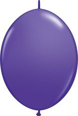 "12"" Purple Violet Quick Link Balloons 1 Dozen Flat"