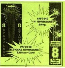 "14"" Sparklers (8)"