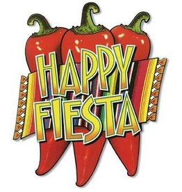 "17"" Happy Fiesta Cutout"