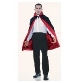 "45"" Black/Red Reversible  Cape"