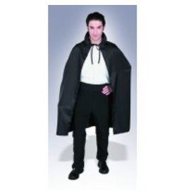 "45"" Black Satin Cape"