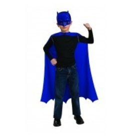 Batman Blue Mask With Cape (Child Size)