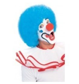 Clown Light Blue Wig