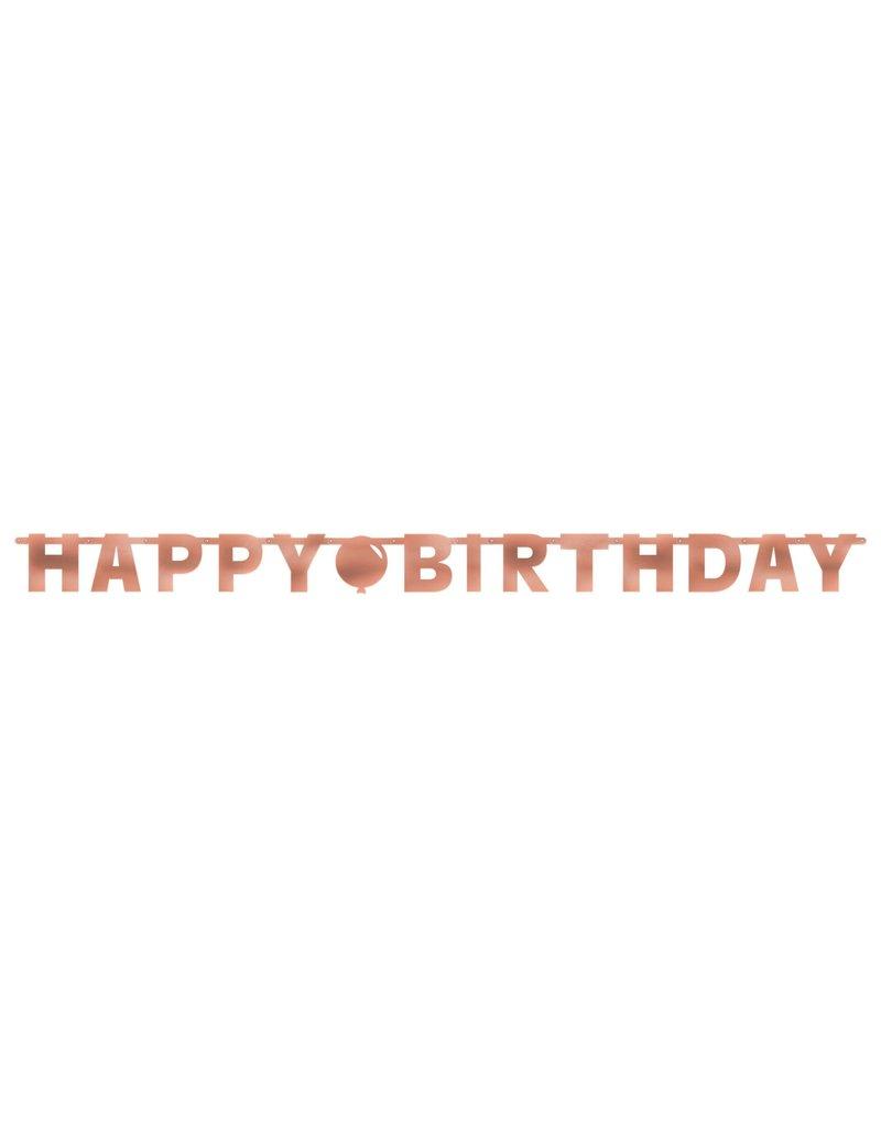 Blush Birthday Letter Banner 7FT Long