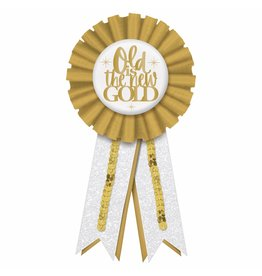 Over the Hill Golden Age Award Ribbon