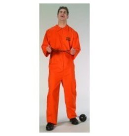 Men's Costume Jailbird Standard Size