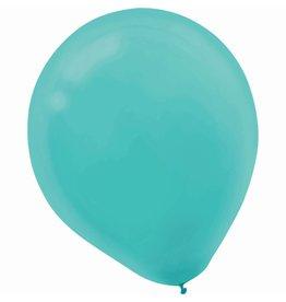 """Robin's-egg Blue 11"""" Latex Balloons (15)"""