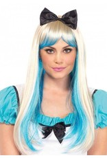 Alice Two-Toned Wig Blonde/Blue