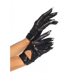 Black Claw Motorcycle Gloves