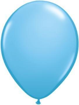 """5"""" Balloon Pale Blue 1 Dozen Flat"""