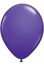 "5"" Balloon Purple Violet 1 Dozen Flat"
