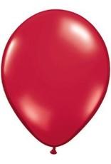 "5"" Balloon Ruby Red 1 Dozen Flat"