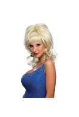 Country Singer Blonde Wig