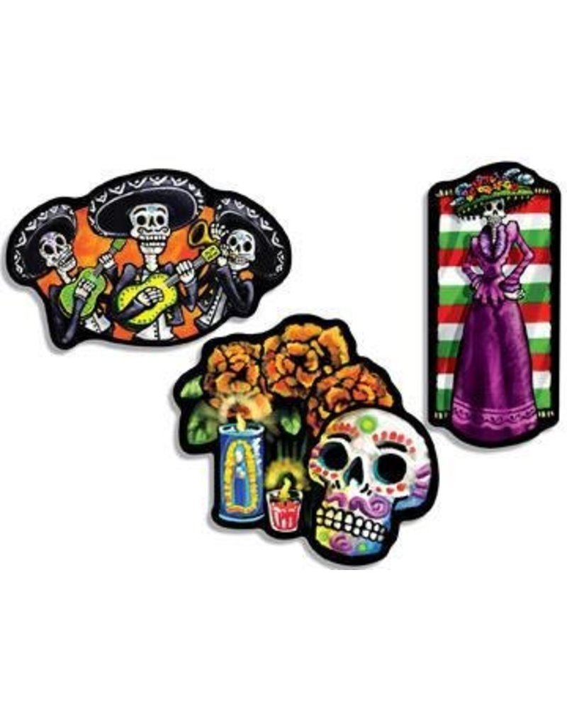 Day Of The Dead Cutouts (3)