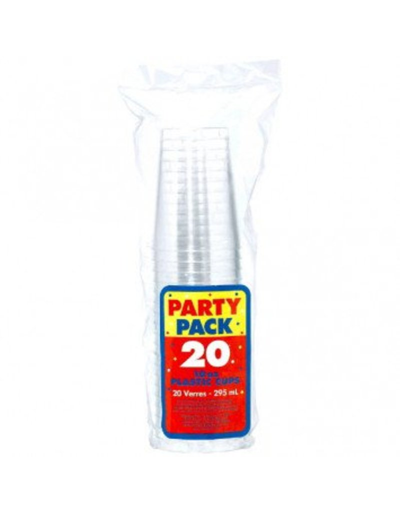10oz Clear Tumbler (20)