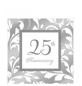 25th Anniversary Lunch Napkin (16)