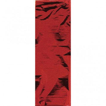 Apple Red Metallic Tablecloth