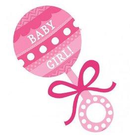 Baby Shower Cutout Baby Girl